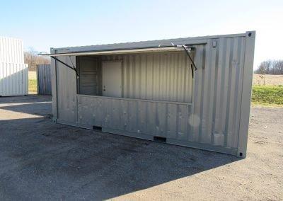Concession Stand - Flip door open