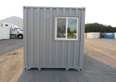 Side view of an Office Container.