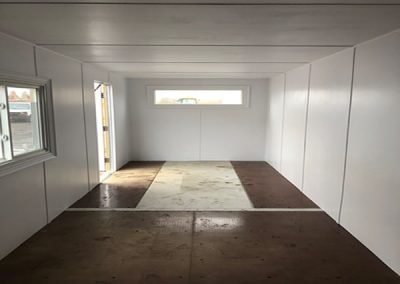 inside view of an office container